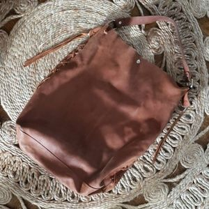 Vintage Leather bag and wallet